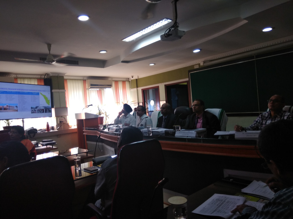 Peer Review Team of ICAR in KAU