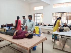 Blood donation camp at COA Padannakkad